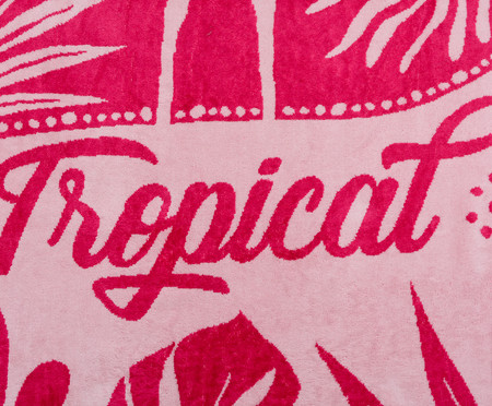 Toalha de Praia Flamingo Exotic Rosé e Pink- 420 g/m² | WestwingNow