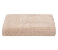 Toalha de Banho Esquadros Cru - 460 g/m² | WestwingNow