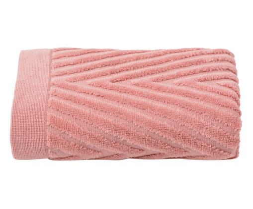 Toalha de Rosto Espinha de Peixe Rosé - 460 g/m², Ros | WestwingNow