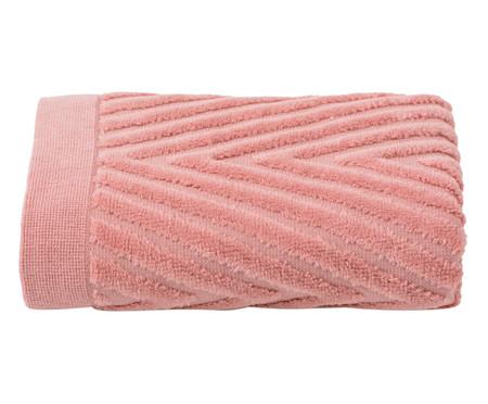 Toalha de Rosto Espinha de Peixe Rosé - 460 g/m² | WestwingNow