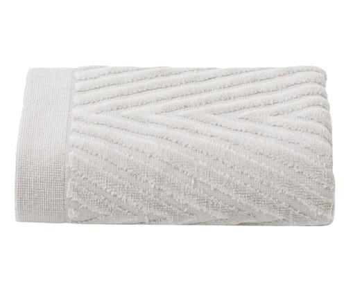 Toalha de Rosto Espinha de Peixe Fog - 460 g/m², Branco | WestwingNow