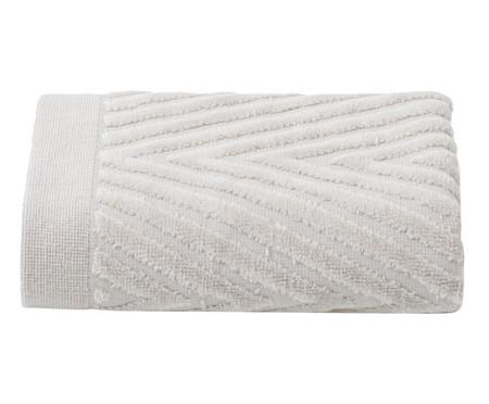 Toalha de Rosto Espinha de Peixe Fog - 460 g/m² | WestwingNow