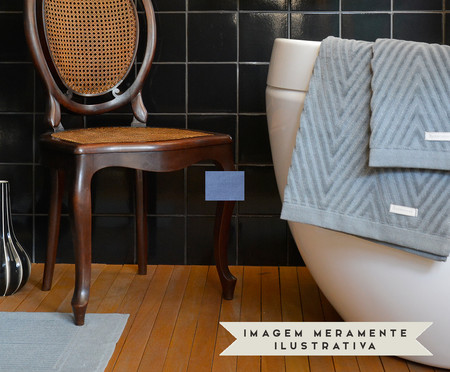 Jogo de Toalhas Espinha de Peixe Urbano - 460 g/m² | WestwingNow