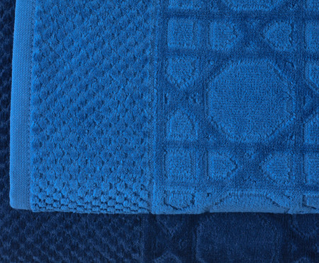 Jogo de Toalhas Thonet - Azul | WestwingNow