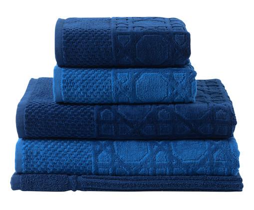 Jogo de Toalhas Thonet Azul Pacífico - 460 g/m², Azul | WestwingNow