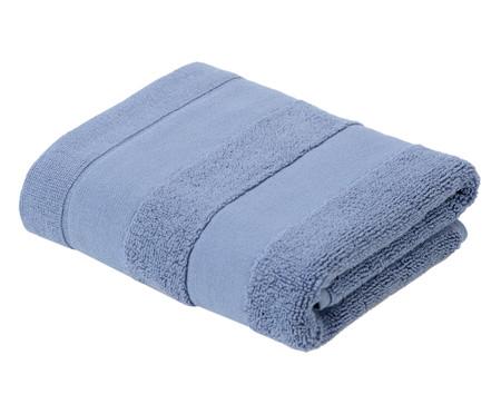 Jogo de Toalhas Listras Azul - 460 g/m² | WestwingNow
