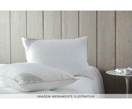 Travesseiro Toque de Pluma Branco - 233 Fios | WestwingNow