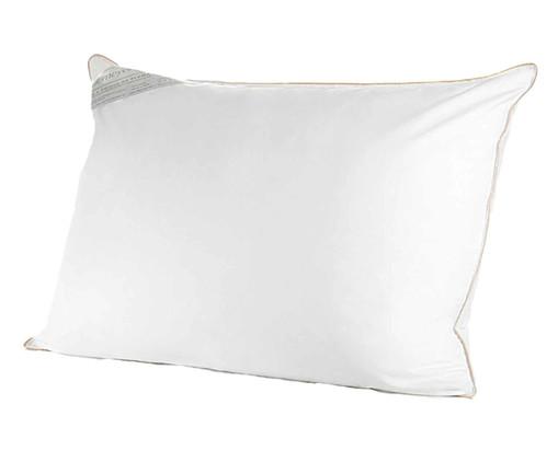 Travesseiro 100% Algodão Toque de Pluma - Branco, Branco | WestwingNow