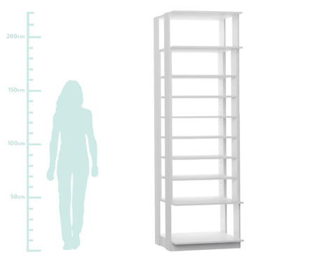 Sapateira Regulável Clothes - Branca | WestwingNow