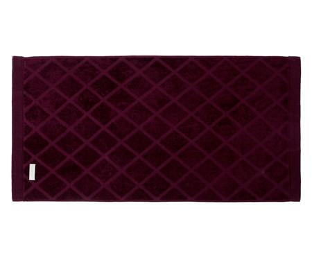 Jogo de Toalhas Diamante Vinho - 460 g/m² | WestwingNow