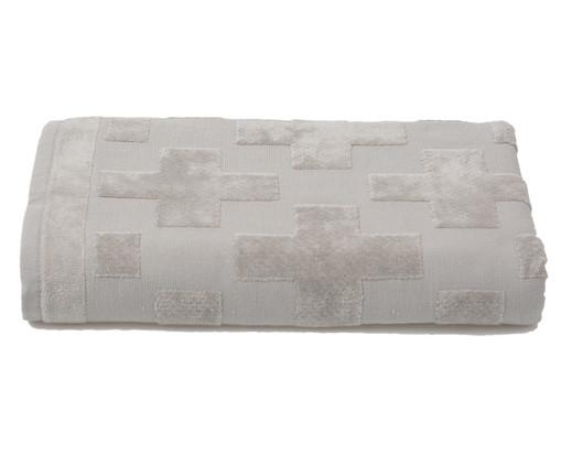 Toalha de Banho Mer Cinza - 460 g/m², Cinza | WestwingNow