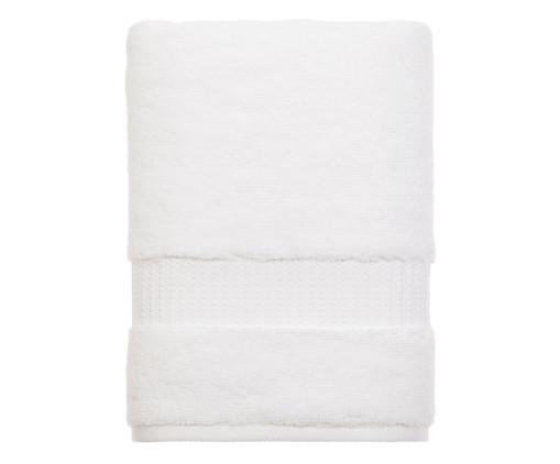 Toalha de Banho Doppia Branca - 530 g/m², Branco | WestwingNow