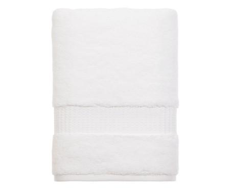 Toalha de Banho em Algodão Doppia 530 g/m² - Branca | WestwingNow