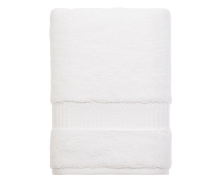Toalha de Banho Doppia Branca - 530 g/m² | WestwingNow