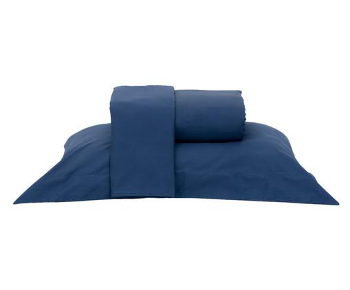Jogo de Lençol Vida Bela Taurus Blue Azul - 200 Fios, Azul | WestwingNow