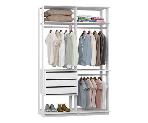 Guarda-Roupa Closet Gali - Branco, Branco | WestwingNow