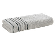 Toalha de Rosto em Algodão Arantes 360 g/m² - Cinza | WestwingNow