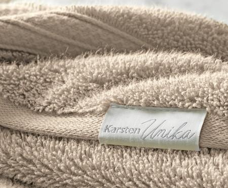 Toalha de Rosto Unika 100% Algodão 500 g/m² - Cinza | WestwingNow