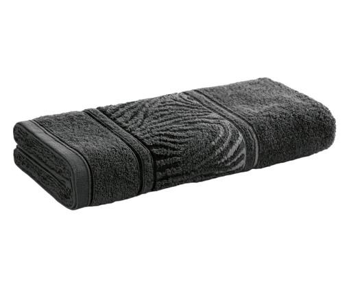 Toalha de Rosto Animale Carbono - 380g/m², Preto | WestwingNow