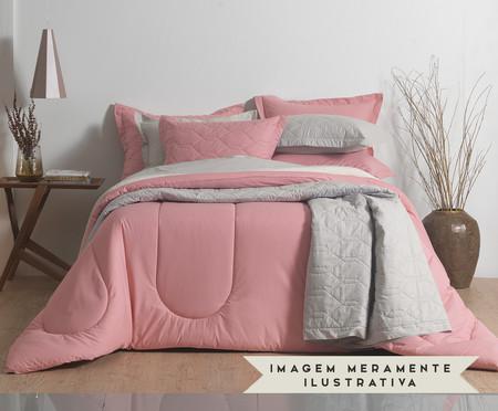 Porta-Travesseiro Liss Rosa - 180 Fios | WestwingNow