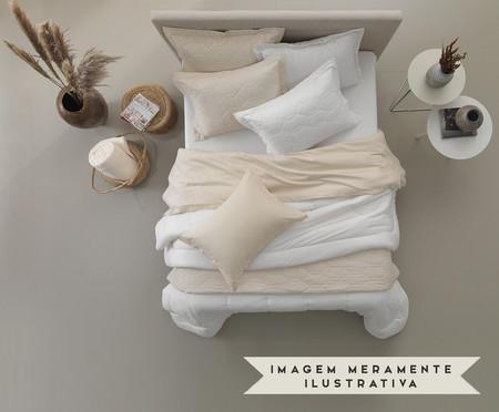Porta-Travesseiro 100% Algodão 180 Fios Liss - Rosa | WestwingNow