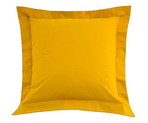 Capa de Almofada Ive Amarelo Açafrão - 200 Fios, Amarelo | WestwingNow