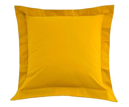 Capa de Almofada Amarelo Açafrão - 200 Fios | WestwingNow