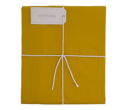 Duvet Ive Amarelo Açafrão - 200 Fios | WestwingNow