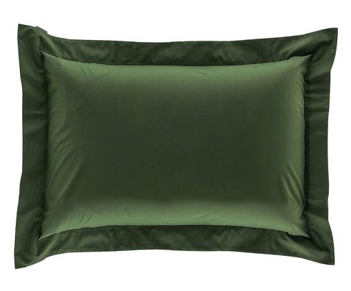 Fronha Bordada 200 Fios - Verde, Verde | WestwingNow