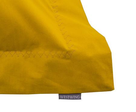 Fronha Bordada Amarelo Açafrão - 200 Fios | WestwingNow