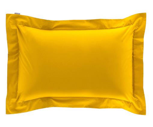 Fronha Bordada Amarelo Açafrão - 200 Fios, Amarelo   WestwingNow
