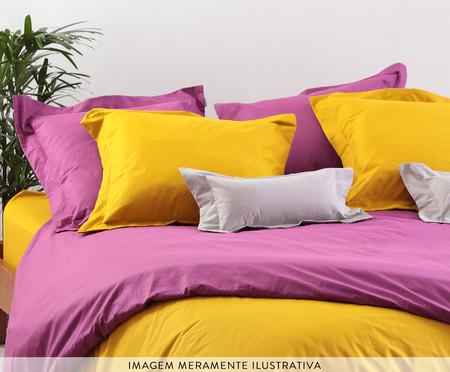 Saia para cama box Ive Coral Bronze - 200 Fios | WestwingNow