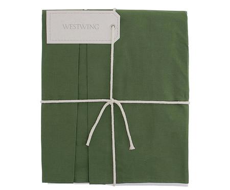 Saia para cama box Ive Verde Amazônia - 200 Fios | WestwingNow