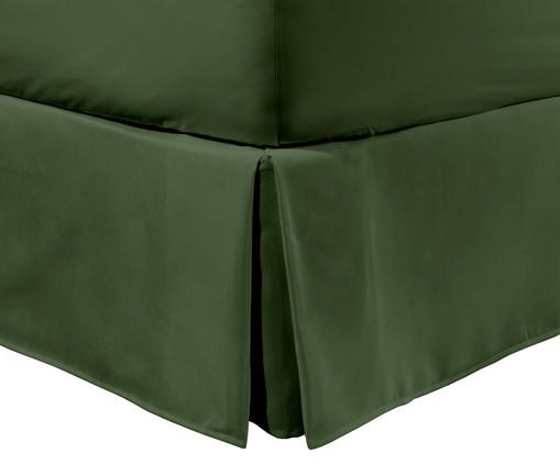 Saia para cama box Ive Verde Amazônia - 200 Fios, Verde | WestwingNow