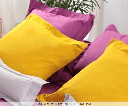 Saia para cama box Ive Framboesa - 200 Fios | WestwingNow