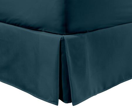 Saia para Cama Box Ive Azul Pavão - 200 Fios | WestwingNow