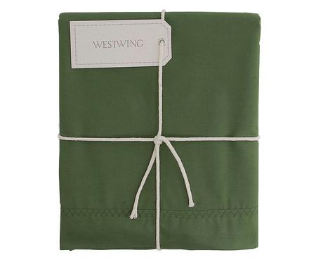 Lençol Superior Ive Verde Amazônia - 200 Fios | WestwingNow