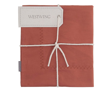 Capa de Almofada Ive 200 Fios - Vermelha | WestwingNow