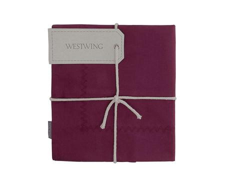 Capa de Almofada Ive 200 Fios - Rosa | WestwingNow