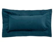 Capa de Almofada Azul Pavão - 200 Fios | WestwingNow