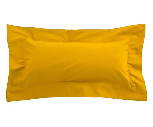 Capa de Almofada Ive 200 Fios - Amarela, Amarelo | WestwingNow