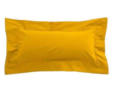Capa de Almofada Ive Amarelo Açafrão - 200 Fios | WestwingNow