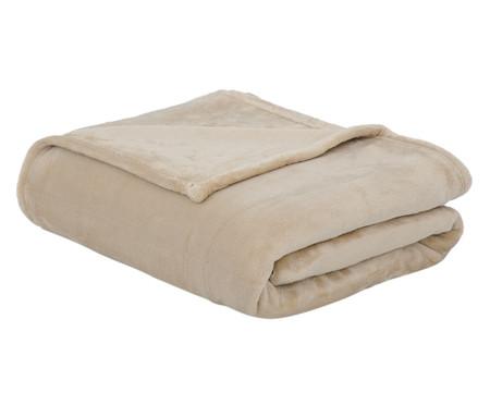 Cobertor Toque de Seda Sweet Dreams Bege - 300G/M² | WestwingNow