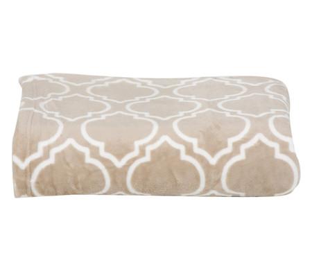 Cobertor Toque de Seda Liz - Creme | WestwingNow