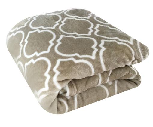 Cobertor Toque de Seda Liz Cinza, Cinza | WestwingNow