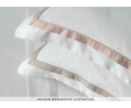 Jogo de Lençol de Cetim Vercelli Light 300 Fios - Rosa | WestwingNow