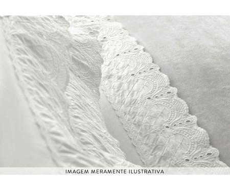 Edredom Pietra em Algodão 200 Fios - Branco | WestwingNow