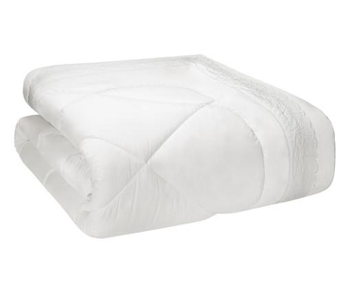 Edredom Pietra em Algodão 200 Fios - Branco, Branco | WestwingNow