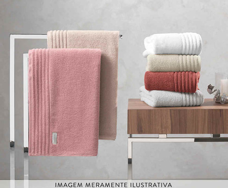 Toalha de Banho em Algodão Imperiale 540 g/m² - Rosa | WestwingNow