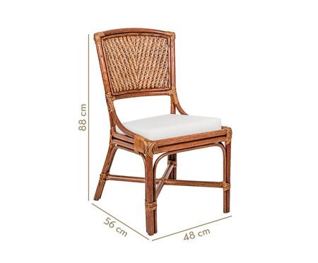 Cadeira de Madeira Eva - Castanho   WestwingNow
